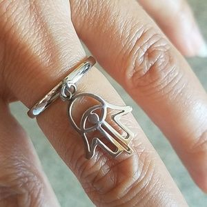 Stainless steel Chamseh Ring size 7